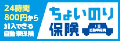 1日自動車保険東京海上日動【ちょいのり保険】